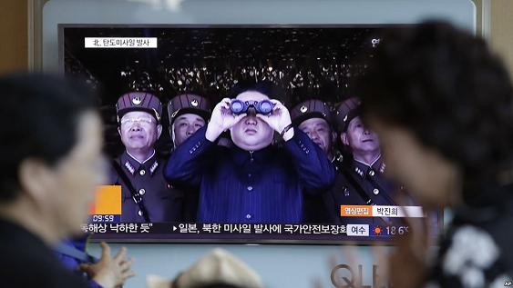 North Korea has successfully test fired a medium long-range ballistic missile