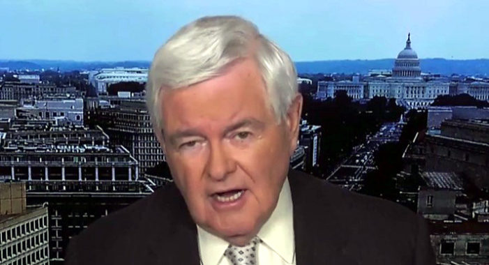Gingrich warns GOP there is 'no middle ground': Surrender or fight in the cultural civil war