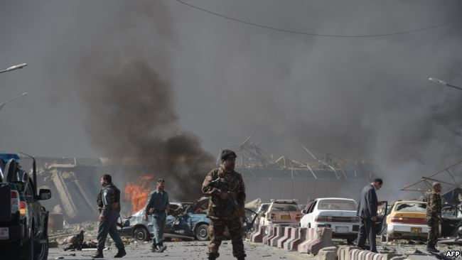 At least 80 dead, 350 wounded in horrific Kabul truck bombing
