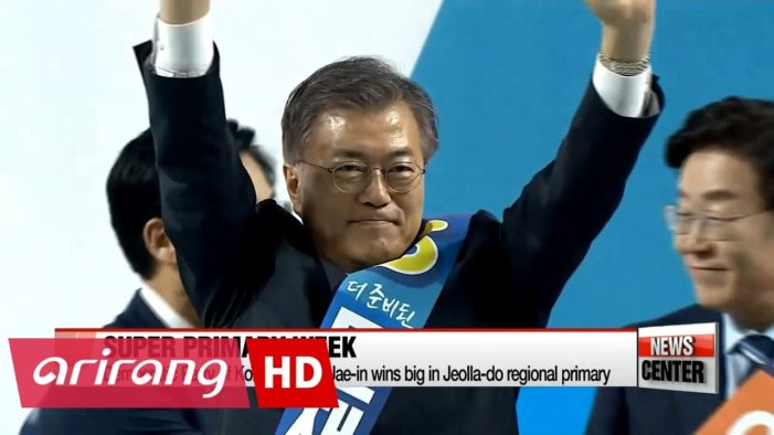 North Korea calls for regime change in the South as leftist candidate there claims victory