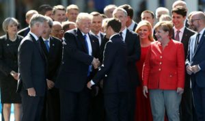 Trump asks NATO to be 'fair to the people and taxpayers of the United States