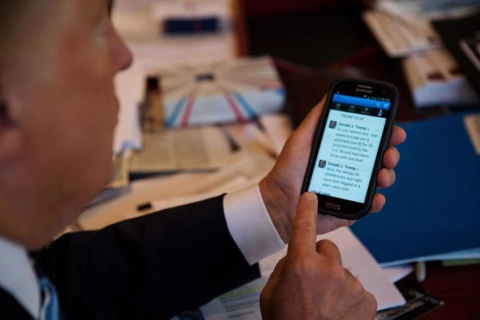 Reports that President Trump's Tweet feed is on life support appear to be exaggerated