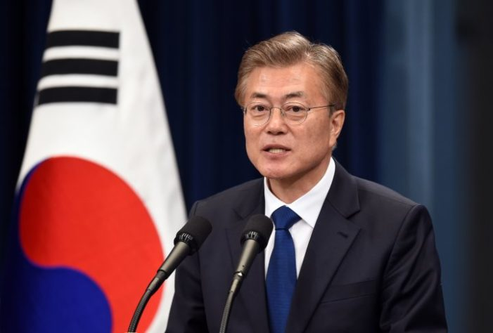 New S. Korean leader eager for summitry despite escalating U.S.-North Korean tensions