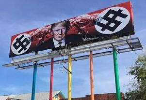 U.S. taxpayers funded Trump-Nazi billboard in Phoenix