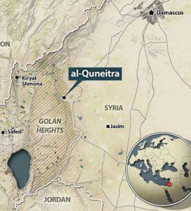 Israel strikes Assad regime targets after errant mortars from Syria land in Israeli territory