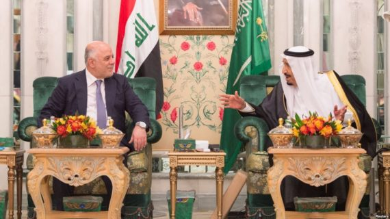 Iraq's Abadi visits Saudis in bid for reconciliation between Shi'a, Sunnis