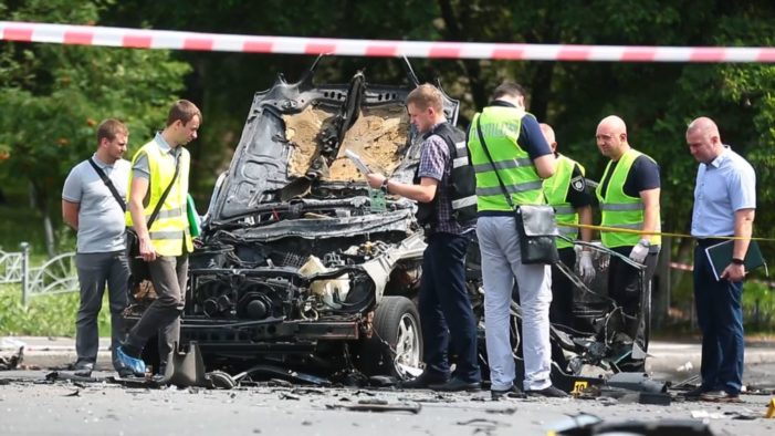 Colonel In Ukrainian military intelligence killed In Kyiv car bombing