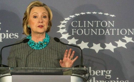 Hillary, Clinton Foundation, deemed extra $1 million gift by Qatar not worth mentioning