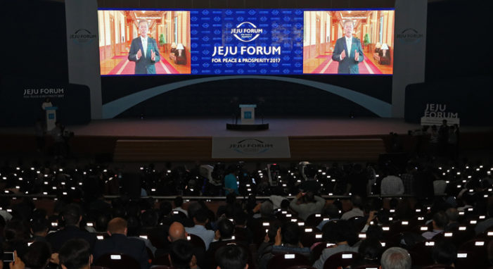 Peace through hot air: Talking in circles at the 'Jeju Forum for Peace and Prosperity'