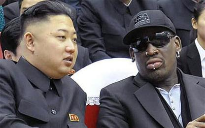 'Streetwise' Rodman is back in Pyongyang . . . at The Donald's behest?