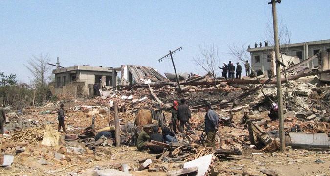 Flashback: Syrians, 'equipment' were in North Korea train blast