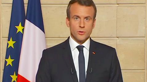 Macron's invitation to progressive Americans: Flee to France and 'make our planet great again'