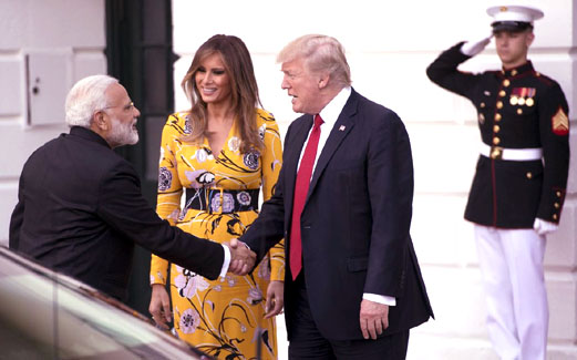 'Chemistry' between two leaders called 'win-win' for U.S.-India ties