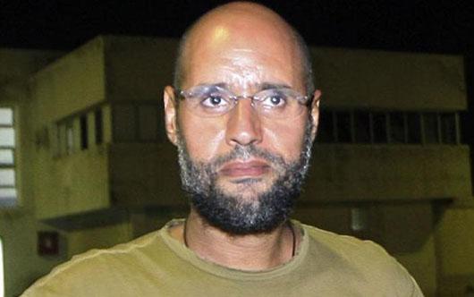 ICC calls for immediate arrest of Gadhafi's son