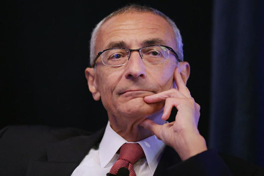Podesta takes some of the heat on Russian interference, but behind closed doors