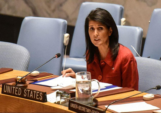 Nikki Haley slams UN for failing to take 'even minimal' steps on Iran violations