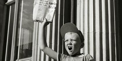 Daily U.S. newspaper circulation has dropped below pre-World War II levels
