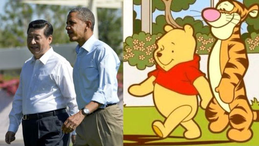 Panda-hugging fine, but Chinese Communist Party censors Winnie the Pooh