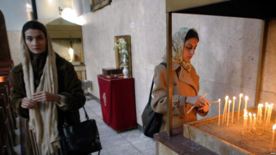 Rights group: Iran sentencing Christian converts to long prison terms
