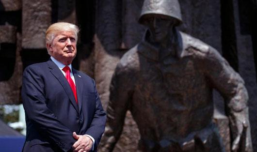 Trump hails 'triumph of Poland's spirit', rallies West against militant Islam and  bureaucracy