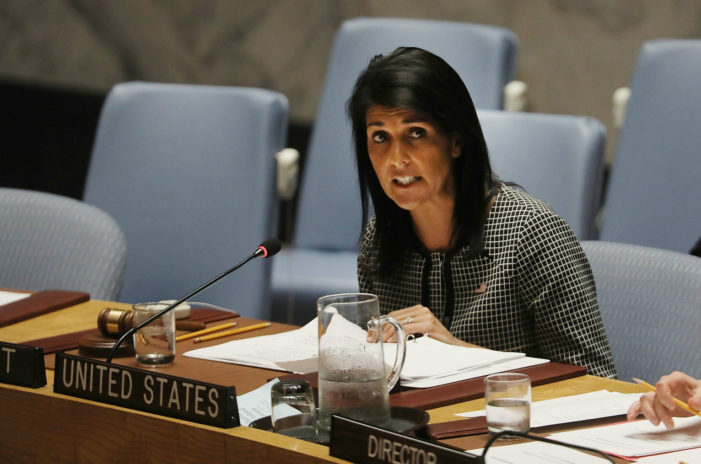 Amb. Haley gets briefing from IAEA, questions failure to inspect military sites