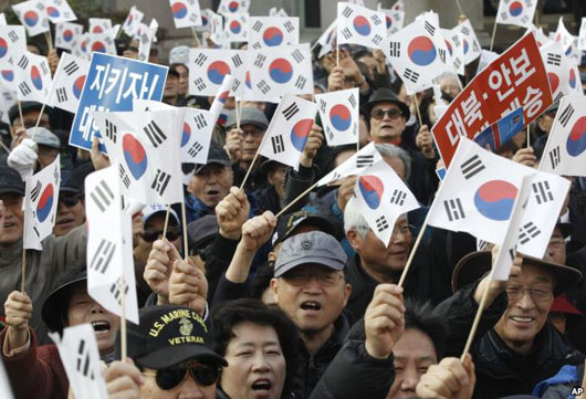 Tense Korea: Leftward tilt in Seoul meets with growing public protests