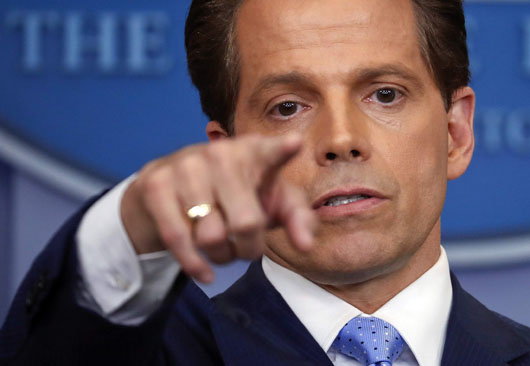 Scaramucci's deal with Chinese company to clear path to White House may have led to his exit