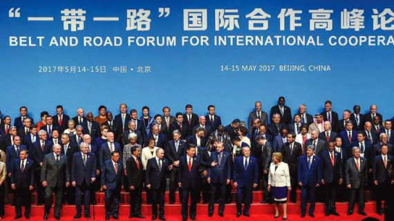 One world under China? Beijing rolls out BRI initiative; U.S. can't agree on renewing its own infrastructure