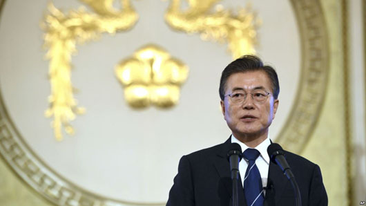 South Korea's president promises Seoul is safe; U.S. will not strike without his permission