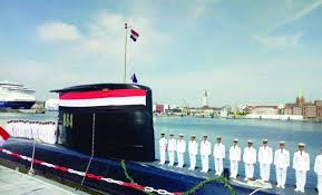 Egypt receives second submarine from Germany