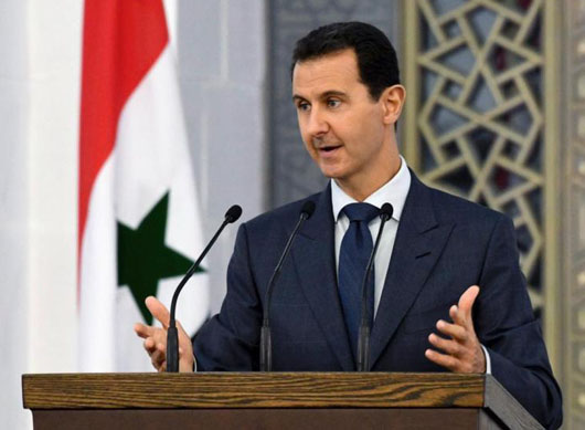 Survivor Assad thanks Russia and Iran, rebukes Turkey