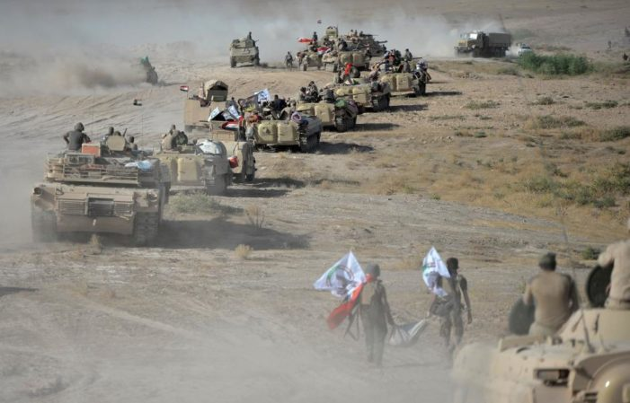 Iraqi forces drive ISIS from all but one city, stretches of desert