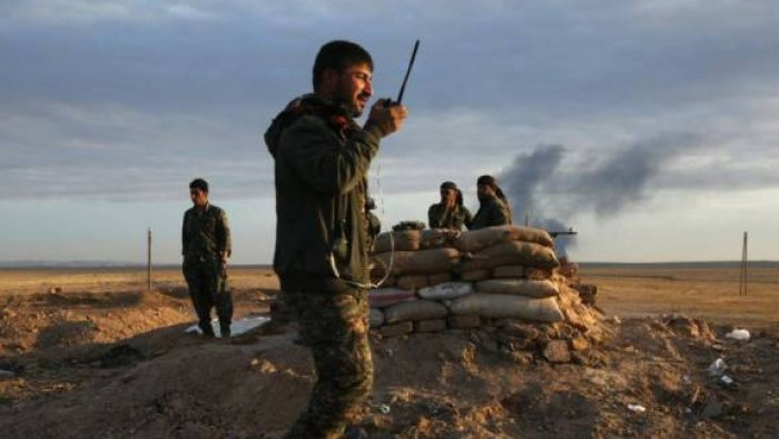 U.S.-backed forces advance in eastern Syria