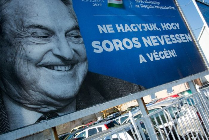 Hungary to hold 'national consultation' on 'public enemy' Soros