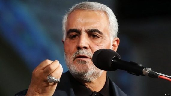 Iran's Gen. Soleimani reportedly gave 'wise counsel' to Kurdish leaders on Kirkuk withdrawal