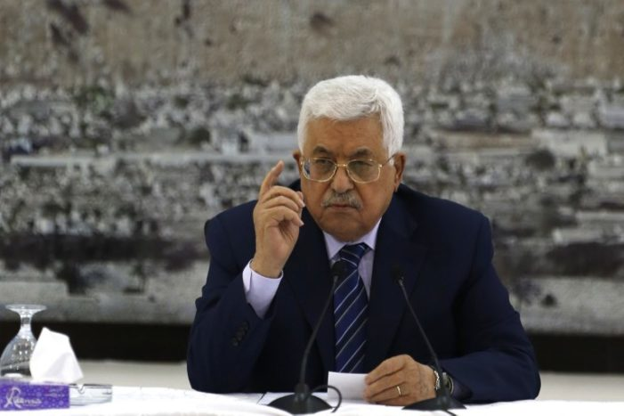 Palestinians' Abbas vows to continue payments to families of terrorists