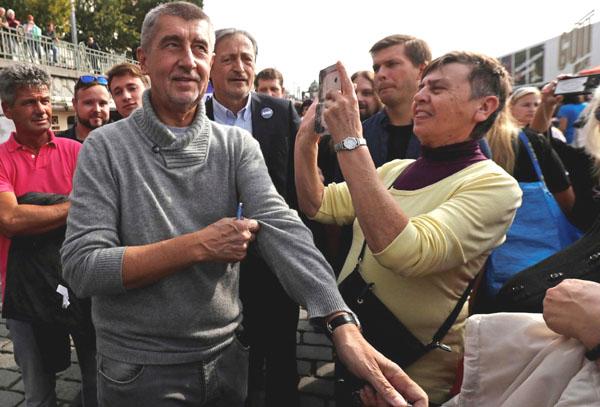 Anti-establishment billionaire vying to become Czech Republic's next prime minister