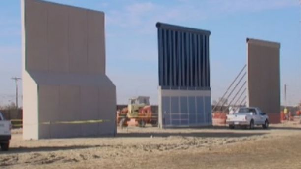 Here comes the wall: Trump rolls out prototypes for testing