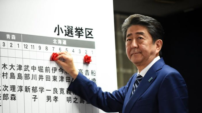 Curtains for pacifist Japan? Abe, conservatives win big as N. Korea threat looms