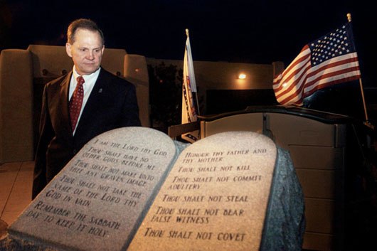 Who is Roy Moore? 'Ten Commandments Judge' set to rock 'Secular City'