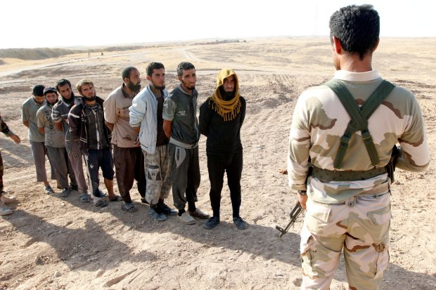 Heaven wait: Large ISIS group surrenders, takes pass on martyrdom