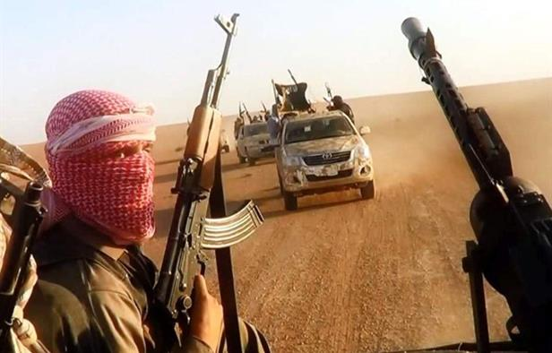 ISIS retreats deep into the Syrian desert to 'regroup and prepare their next incarnation'