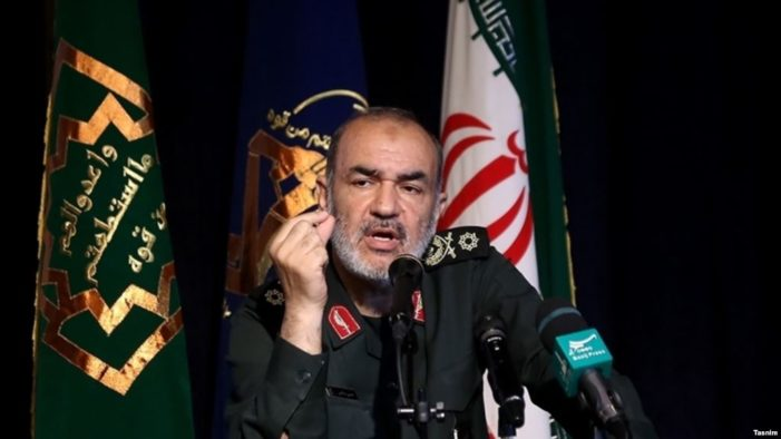 Iran's IRGC warns EU not to interfere with missile program