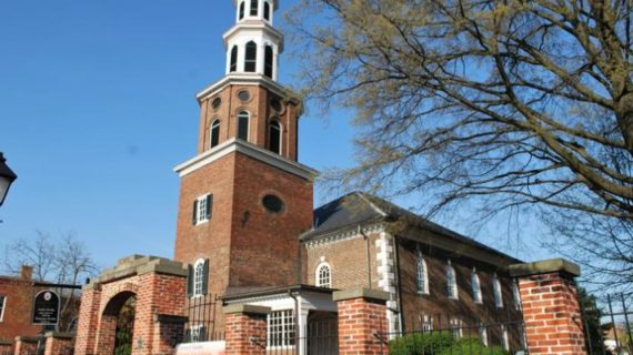 Virginia church to take down plaque honoring former member George Washington