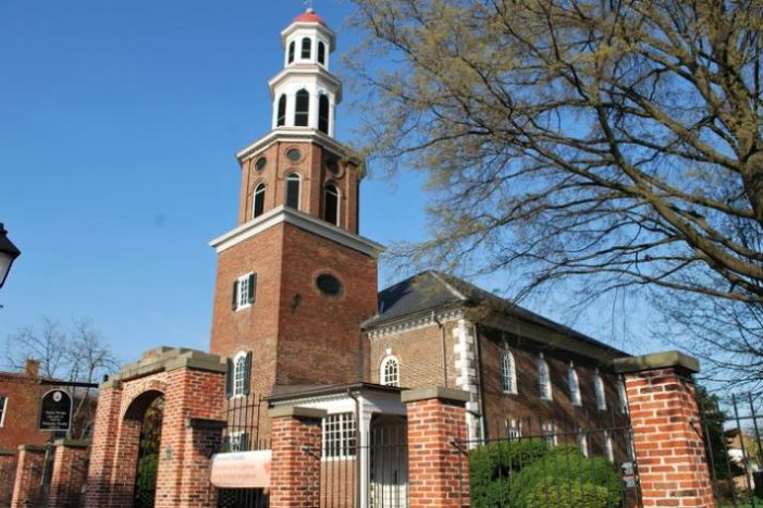 Virginia church to take down plaque honoring former member George Washington