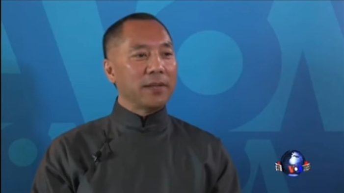 VOA set to fire three employees for helping billionaire Chinese dissident expose CCP secrets