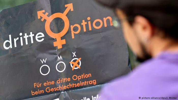 Multiple choice: Germany, like U.S., must now recognize third gender on birth certificates