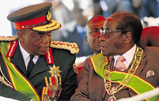 China role seen in military's sidelining of Zimbabwe's Mugabe