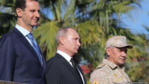 Putin in Syria hails 'counter terrorism' victory, orders partial Russian withdrawal