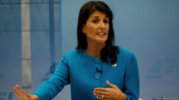 Amb. Haley cites 'undeniable evidence' of Iranian weapon supplies to Yemeni rebels